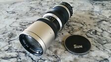 SUN Zoom YS-MC 85-210mm f/4.5 Zoom Lens for Minolta and Others, Nice lens