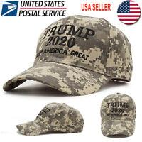 Trump 2020 Hat Digital Camo Keep America Great MAGA Embroidered Camouflage USA