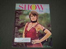 1971 March Show Magazine Of Films & Art- Jane Fonda Cover - Cw 18