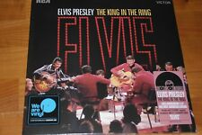 ELVIS PRESLEY The King in the ring DoLP RSD 2018 rotes Vinyl nummeriert