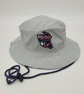 Jumbo Shrimp Gray Pink Bucket Hat Adjustable Giveaway /Promo