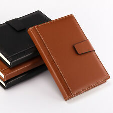 Thicken PU Leather Ruled Business Notebook Writing Journal Book 8.5 x 5.9 inch