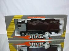 JOAL COMPACT 354 DAF 95XF 480 TRUCK LOW CAB - SILVER 1:50 - GOOD IN BOX