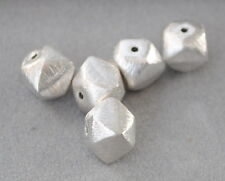 925 Silber Zwischenteile, Spacer Perlen, Altsilber, Vintage Schmuck, gebürstet
