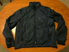 MENS USED POLO RALPH LAUREN PERFORMANCE NAVY BLUE LIGHTWEIGHT JACKET SIZE LARGE