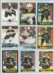 BRANDON CARLO RC LOT 9 YOUNG GUNS CANVAS OPC BLACK RAINBOW SEISMIC GOLD ROOKIE