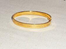 Stella & Dot Inspiration Gold Bracelet - LOVE - Gently Pre-loved Sample!
