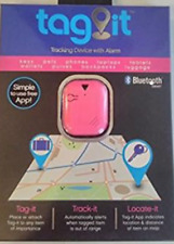 Tag It Bluetooth Tracking Device with Alarm Pink New