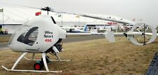 Ultrasport 496 American Sportscopter Helicopter Dry Wood Model Replica Small New