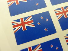 Mini Sticker Pack, Self-Adhesive New Zealand Flag Labels, FR196