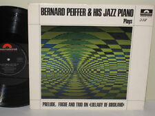 BERNARD PEIFFER - Plays ~POLYDOR INTERNATIONAL 623 210 {nm} ->RARE LAST SESSION<