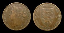 Jersey-victoria - 1/12 shilling 1877 h