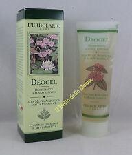 ERBOLARIO DEO GEL déodorant long effet 50 ml menthe aquatique menthe poivrée