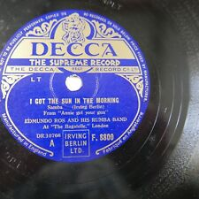 78rpm EDMUNDO ROS i got the sun in the morning / the coffee song F 8800