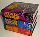 3) 1997 Mini Books, Star Wars, Return of The Jedi & The Empire Strikes Back