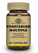 Solgar Vegetarian Multiple Vitamin & Mineral 90 Vegetable Caps Vitamin C  & Iron