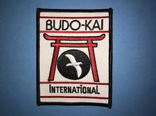 Budo Kai Budokai International Karate MMA Martial Arts Uniform Gi Patch 635