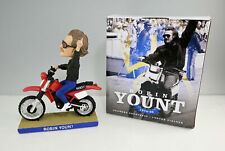 2017 Milwaukee Brewers Robin Yount Motorcycle Bobblehead In Box