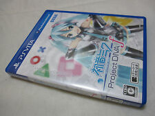 7-14 Days to USA Airmail. USED VITA Hatsune Miku Project Diva f Japanese Version