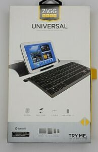 Wireless Bluetooth Keyboard For Smartphones & Tablets ZAGGkeys With Cover Case.