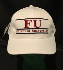NCAA FU Fairchild University Embroidered Snap Back Baseball Hat NOS Vintage 90's