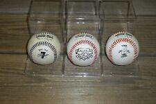 Jackie Robinson Mickey Mantle Cal Ripken Jr. Major League Rawlings Baseballs (3)