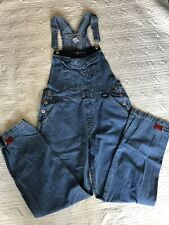 Nice Vintage 90's Bum Equipment Denim Overalls Bib Women's S Small Jeans