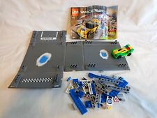 LEGO Extreme Ice Rally Racers 8124 Fold Out Track Car Bricks NOT COMPLETE