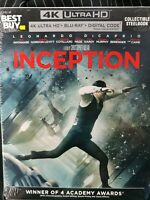 Inception Best Buy Exclusive Steelbook (4K UHD, Blu-ray, Digital, 2020) Ultra HD
