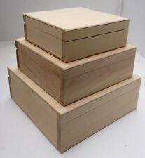 Set of three pine wood nesting boxes DDD148-150 memory nostalgia history