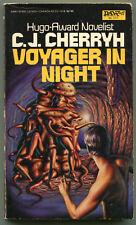 C J Cherryh VOYAGER IN NIGHT First Printing DAW 573