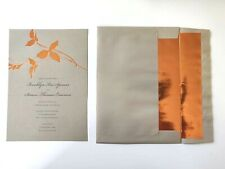 Wedding Invitation & Card Note Kit With Envelopes