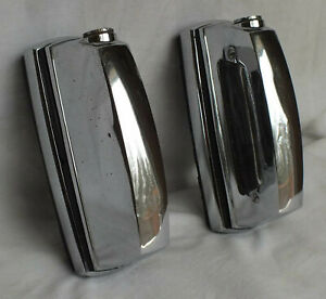 Mercedes-Benz W108 W109 280S 280SE Rear Licence Plate Lights Bumpers.