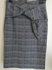 River Island Wiggle Pencil Skirt Uk 14 Work Office Interview Legal Suits