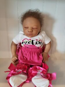 reborn baby doll african american girl