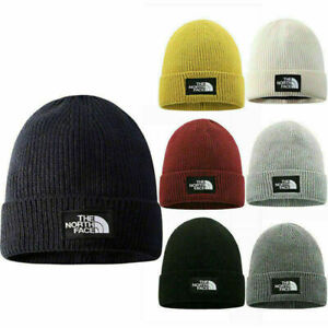 The North Face Mens Ladies Knitted Wooly Beanie Hat Warm Ski Skull Cap 2021 AU