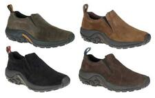 MERRELL Men's Suede Trail Runners in 4 Colors, Medium D and Wide EE