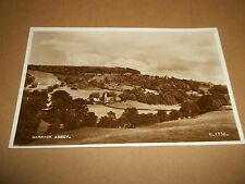 REAL PHOTO POSTCARD: MARRICK ABBEY EXCELLENT CONDITION VALENTINE & SONS