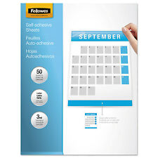 Fellowes Self-Laminating Sheets 3mil 12 x 9 1/4 50/Box 5221502