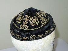 Beautiful Kippah Yarmulke Velvet Embroidered Judaica Jewish Bukhara