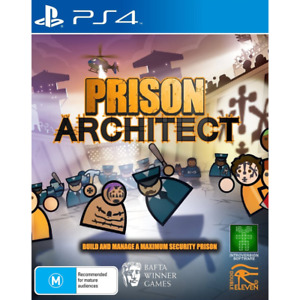 Prison Architect - PS4 Playstation 4 VERY GOOD FREE POST+ TRACKING