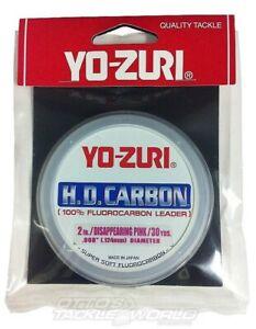 Yo-Zuri HD Fluorocarbon Pink Fishing Leader Line