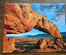 "The Wilderness Society 16 Month Beautiful Glossy 2018 Calendar 10 1/2"" x 8 1/2"""