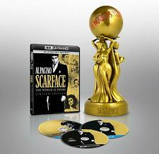 SCARFACE LIMITED COLLECTORS EDITION STATUE BLU RAY 4K ULTRA HD NEW AND SEALED