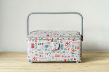 Sewing Box / Basket ~ Medium ~ Stitch in Time ~ HobbyGift ~ Storage