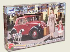 Escala 1/35 Italiano Luz civil coche (Hard Top) con Lady Y Perro