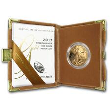 2017-W 1 oz Proof Gold American Eagle (w/Box & COA)