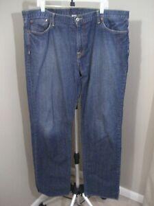 "LUCKY BRAND Dark Wash VINTAGE STRAIGHT Jeans Sz 40 Long x 36"""