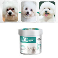130pcs/box Pet Eye Wipes Dogs Cats Tear Wiping Pads Eye Crust Treatment Cleaner