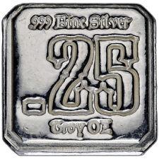 Suns Of Liberty 1/4 oz .999 Silver Square Round USA Bullion Bar - AMERICAN AG-47